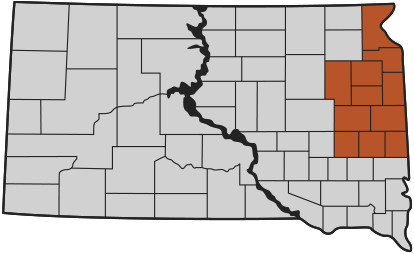 First District Association Coverage Area